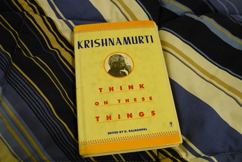Think On These Things by Krishnamurti